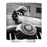1963 Jaguar Mkii  Shower Curtain