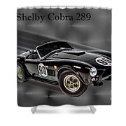 1963 Shelby Cobra 289 Shower Curtain