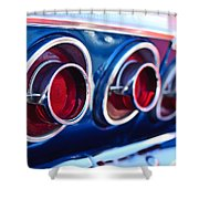 1964 Chevrolet Impala Ss Taillight 2 Shower Curtain
