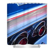 1964 Chevrolet Impala Ss Taillight Shower Curtain