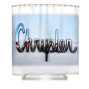 1964 Chrysler Emblem  Shower Curtain