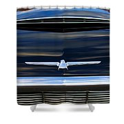1964 Ford Thunderbird Hood Emblem Shower Curtain