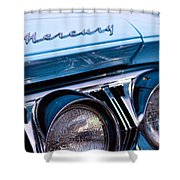 1964 Mercury Park Lane Shower Curtain by Gordon Dean II