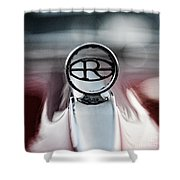 1965 Buick Riveria Hood Emblem Shower Curtain