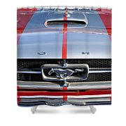 1965 Ford Mustang Front End Shower Curtain