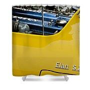 1965 Lotus Elan S2 Engine Shower Curtain