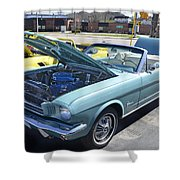 1965 Mustang Convertible Shower Curtain