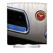 1966 Bizzarini 5300 Spyder Shower Curtain