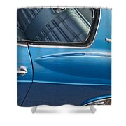 1966 Chevy Caprice Chevrolet Back Clip Shower Curtain