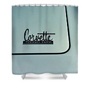 1966 Corvette Sting Ray Shower Curtain