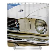1966 Ford Shelby Gt 350 Grille Emblem Shower Curtain