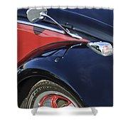 1966 Volkswagen Vw Bug Shower Curtain