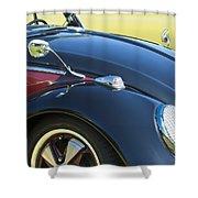 1966 Volkswagen Vw Convertible Bug Shower Curtain