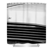 1967 Buick Station Wagon Shower Curtain by Michelle Calkins
