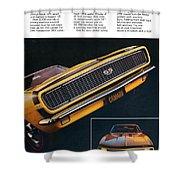 1967 Camaro Ss Shower Curtain