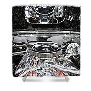 1967 Chevrolet Chevelle Ss Engine 2 Shower Curtain