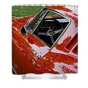 1967 Ferrari 275 Gtb4 Coupe Shower Curtain