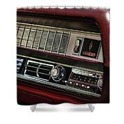 1967 Oldsmobile Cutlass 4-4-2 Dashboard Shower Curtain