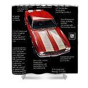 1968 Chevrolet Z/28 Camaro  Shower Curtain