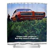 1968 Pontiac Gto Shower Curtain