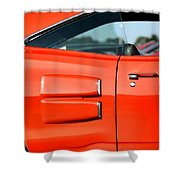 1969 Dodge Coronet Super Bee Shower Curtain