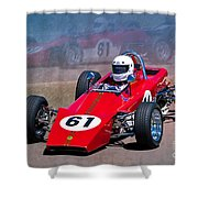 1969 Lotus 61 Formula Ford Shower Curtain