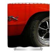 1969 Plymouth Gtx Hemi Shower Curtain