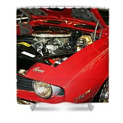 1969 Z-28 Crossram With 9737 Copo Option Shower Curtain