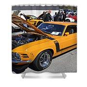 1970 Boss Mustang Shower Curtain