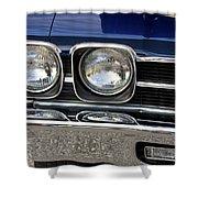 1970 Chevrolet Chevelle Antique Show Car Shower Curtain