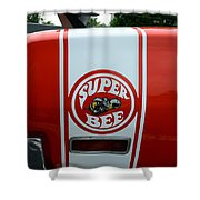 1970 Dodge Super Bee 1 Shower Curtain by Paul Ward