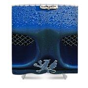 1970 Iso Rivolta Grifo Emblem 2 Shower Curtain