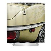 1970 Jaguar Xk Type-e Taillight 2 Shower Curtain
