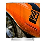 1970 Plymouth Cuda Barracuda 383 Shower Curtain