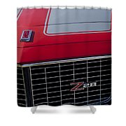 1971 Chevrolet Camaro Grille Shower Curtain