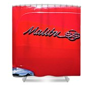 1971 Chevrolet Chevelle Malibu Convertible Shower Curtain
