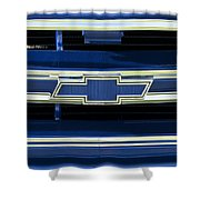 1971 Chevrolet Grille Emblem Shower Curtain