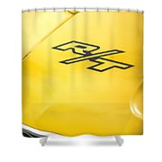 1971 Dodge Challenger Rt Shower Curtain