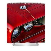 1971 Plymouth Hemi 'cuda Shower Curtain by Gordon Dean II