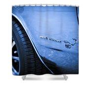1971 Plymouth Road Runner Shower Curtain by Gordon Dean II