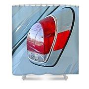 1971 Volkswagen Vw Beetle Taillight Shower Curtain