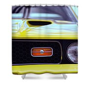 1972 Ford Mustang Mach 1 Shower Curtain