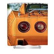 1977 Chevrolet Corvette Shower Curtain