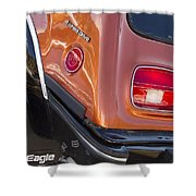 1983 Amc Eagle 4 Wheel Drive Shower Curtain