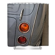 1991 Nissan Figaro Taillights Shower Curtain