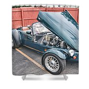 1994 Panoz Roadster Shower Curtain