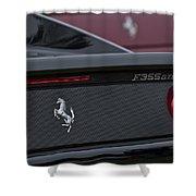 1997 Ferrari Emblem Shower Curtain