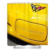 1998 Chevrolet Corvette  Shower Curtain