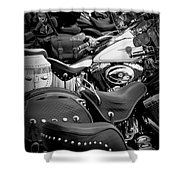 2 - Harley Davidson Series Shower Curtain