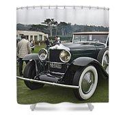 1929 Minerva Type Am Murphy Convertible Sedan Shower Curtain